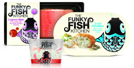 Springetts Create Branding & Packaging for The Funky Fish Kitchen