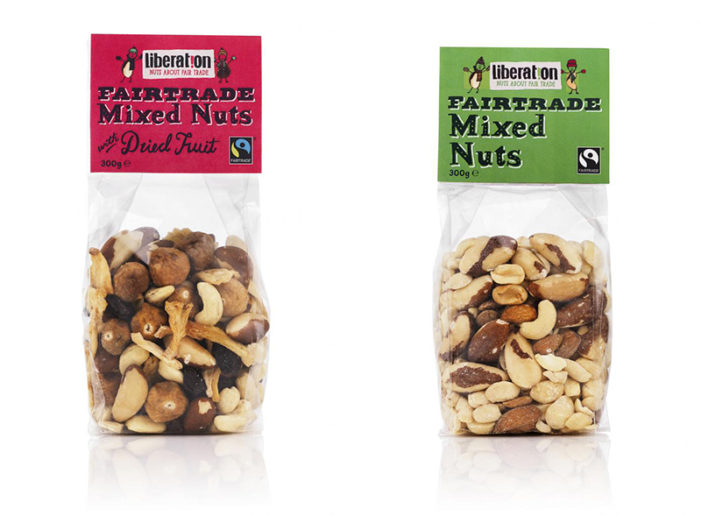 Liberation Nuts 'Mixes It Up' For Christmas At Oxfam