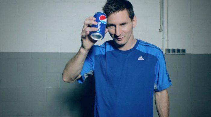 Leonel Messi Shows Off His Football Skills in Lastest Pepsi Ad