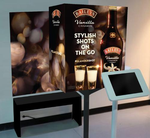 Baileys Launches Stylish Shots On The Go Pop-Up Photo Booths
