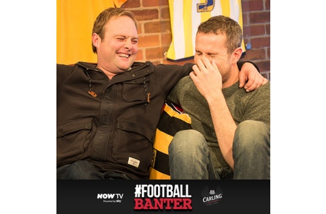 NOW TV & Carling Launch #FootballBanter