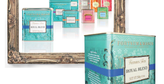 Decide Redesigns Fortnum & Mason's Entire Tea Range