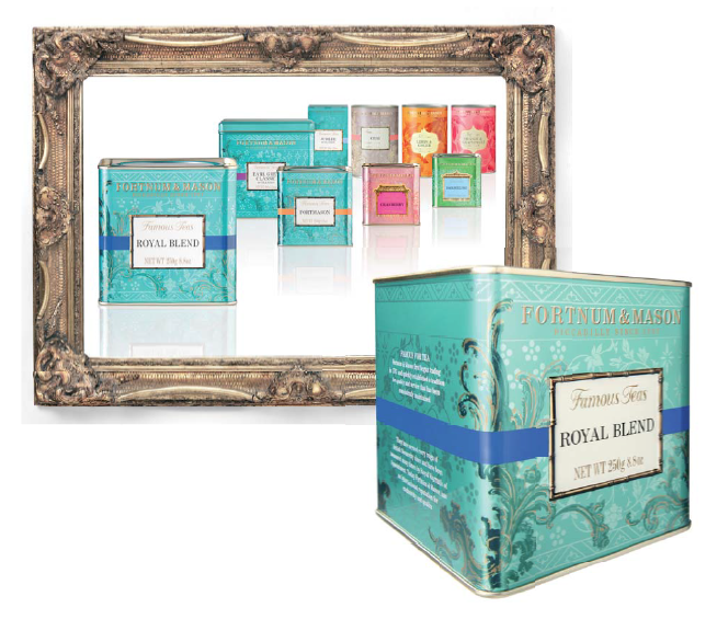 Decide Redesigns Fortnum & Mason's Entire Tea Range