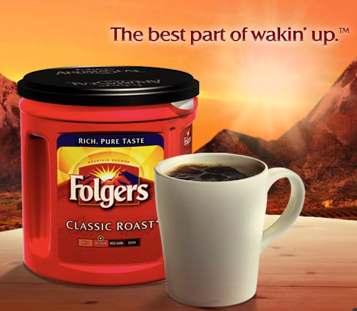 Folgers Coffee Brightens Your Day With The Aroma Of Good News
