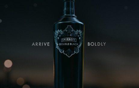 "Smirnoff Double Black ""Arrive Boldly"""