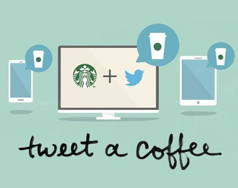Starbucks Lets You Buy A Coffee For Your Friend With Twitter