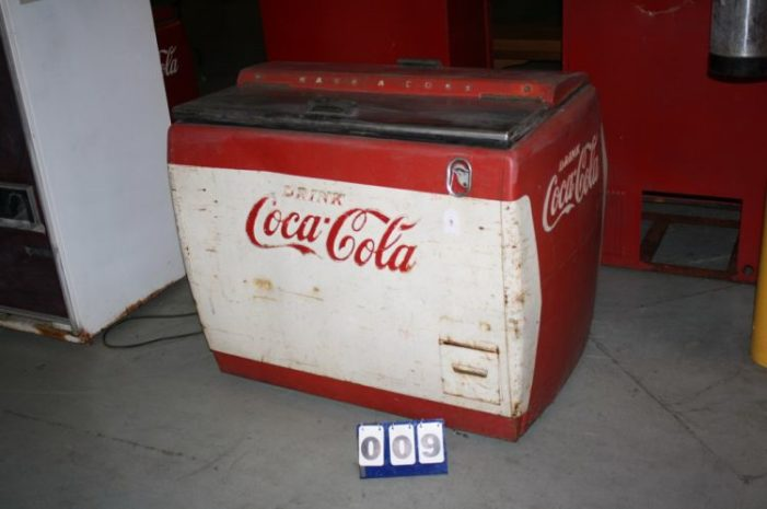 Coca-Cola Memorabilia and Collectibles Selling At Auction in Biscoe, USA