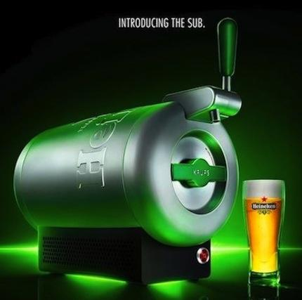 Heineken Unveils Product to Bring the 'Perfect' Draught Beer to Living Rooms