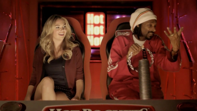 Kate Upton Dreams About Hot Pockets Brand Sandwiches in Parody Music Video