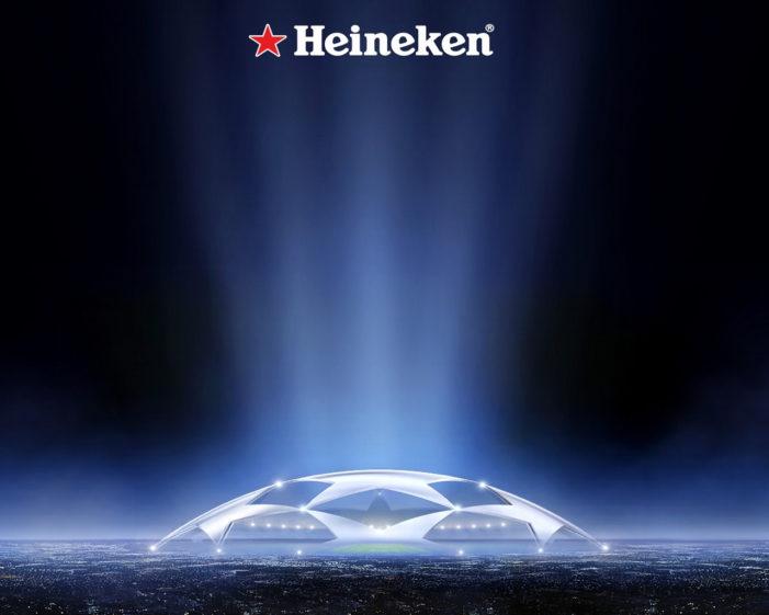 Heineken Renews UEFA Champions League Sponsorship