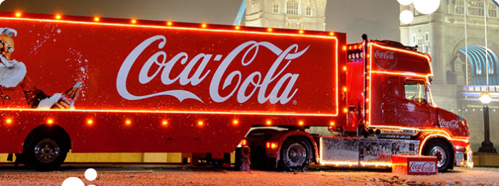 Coca-Cola Marks the Start of Christmas