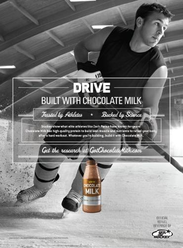 USA Medal Favorites Show How Success is 'Built With Chocolate Milk'