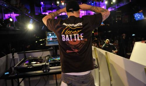 McDonald's Challenges DJs Across USA with the Launch of the Flavor Battle