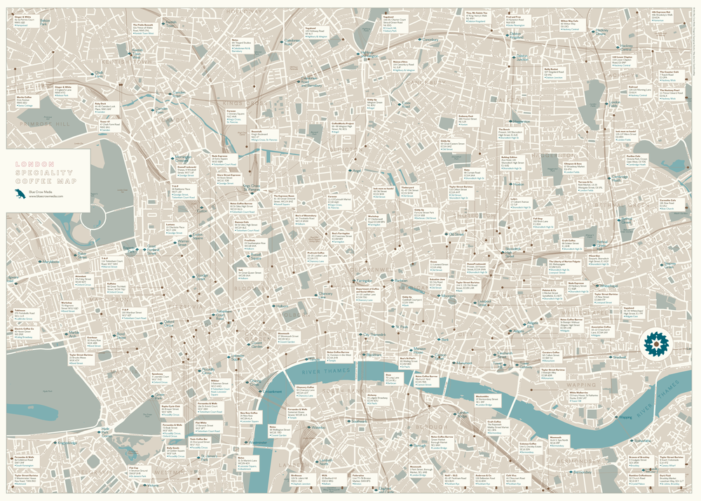 Maps That Help You Find The Best Coffees In New York, Paris, London