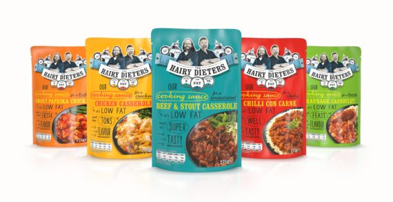 The Hairy Bikers Unveil Hairy Dieters Range of Sauces Designed by Elmwood