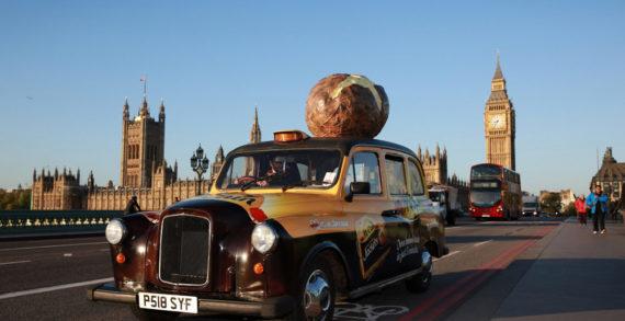 McCain Unveils Potato Scented Taxi
