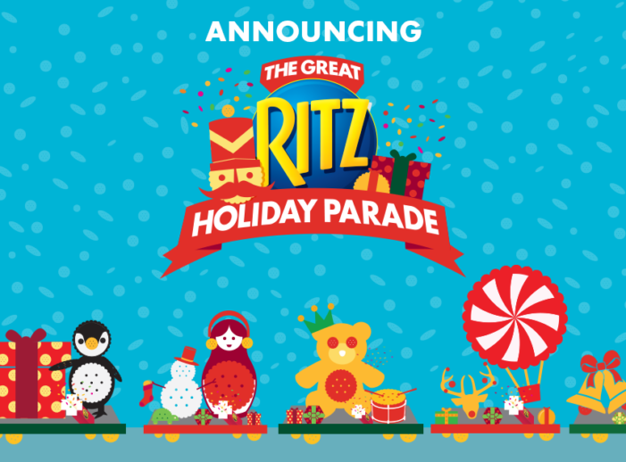 Ritz Crackers is Reimagining Seasonal Fun with The Great Ritz Holiday Parade