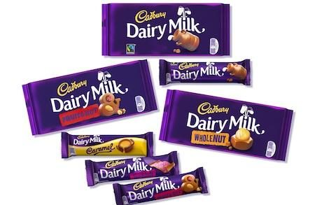 """Cadbury Revamps Dairy Milk Packaging to Give Brand """"Modern"""" Flavour"""