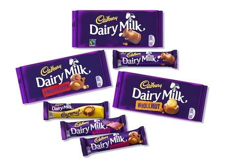 "Cadbury Revamps Dairy Milk Packaging to Give Brand ""Modern"" Flavour"