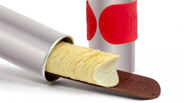 Never Again Get Your Hand Stuck in a Pringles Tube With This Chip Dispenser