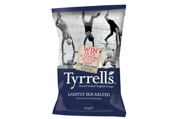 Tyrrells On-pack Promotion Offers Bizarre Array of Prizes