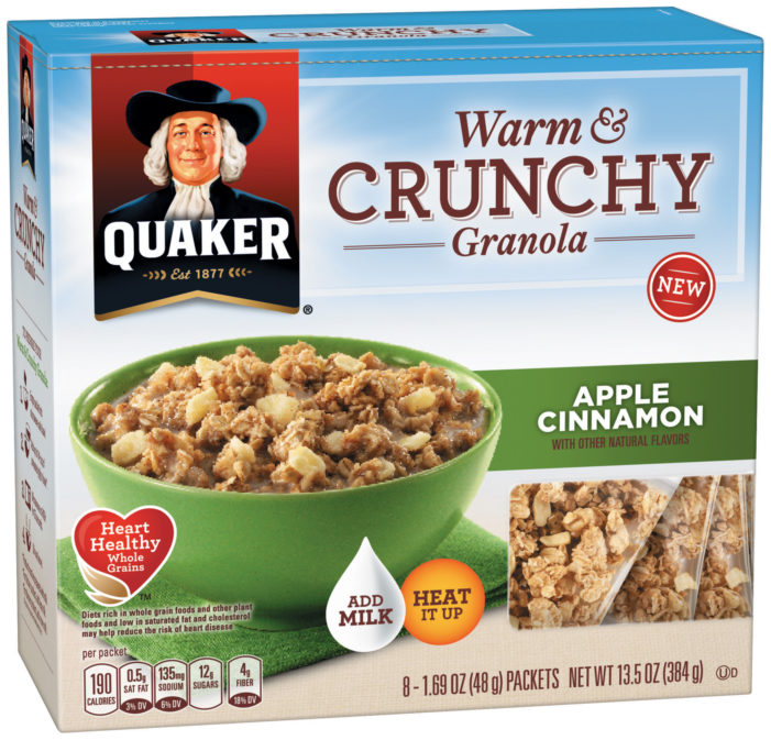 Latest Innovations From Quaker Oats Help Fuel Busy Days