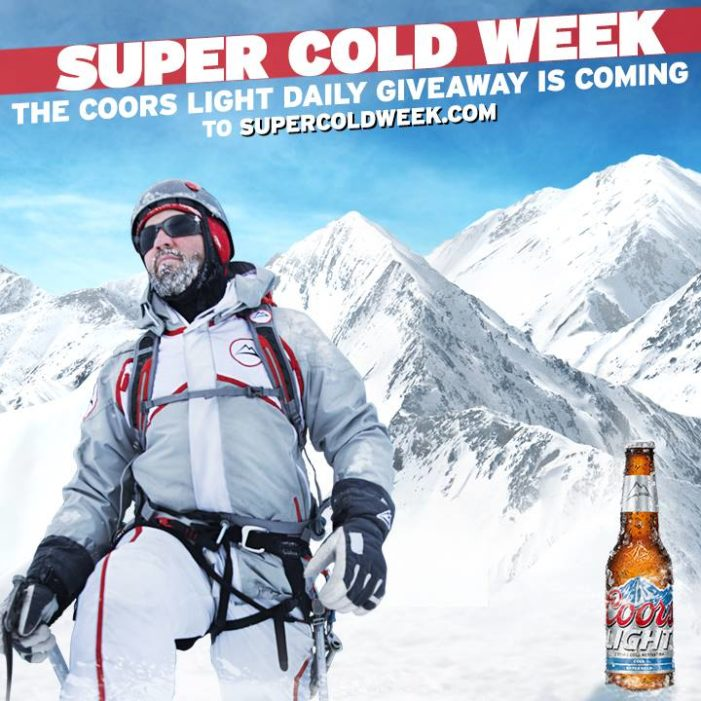 Coors Light Encourages Sports Fans to Celebrate the Cold with Epic Giveaway