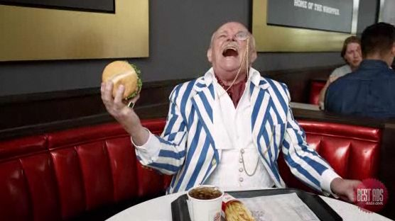 Burger King's Ad Stars 'Dated The Queen'