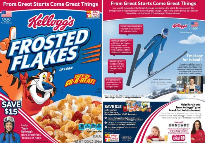 Kellogg's Celebrates Father/Daughter Bond with Sarah Hendrickson