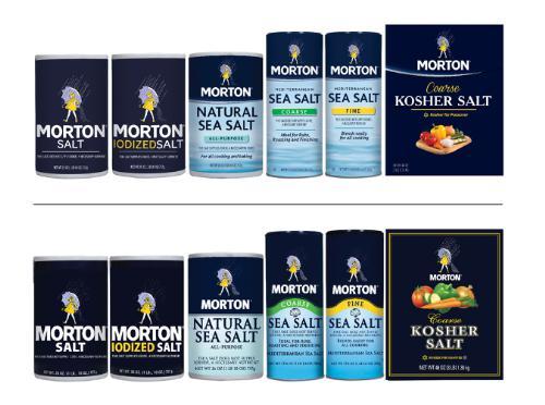 Happy 100th Birthday, Morton Salt Girl! Hello Morton Salt Brand Refresh