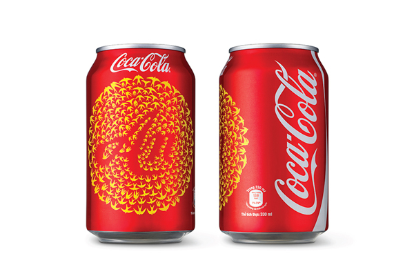 Coca-Cola Unveils Cans With Hand-Drawn Swallow Designs In Vietnam