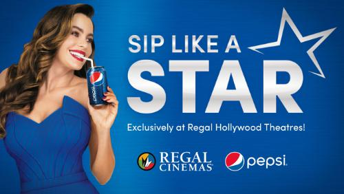 Pepsi Gives Selected Guests of Theatres the Chance to 'Sip Like a Star'