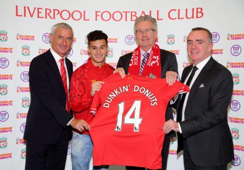 Dunkin' Brands Strike Global Marketing Partnership with Liverpool FC