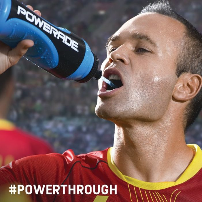 Powerade Teams Up with Andrés Iniesta for 2014 FIFA World Cup Campaign