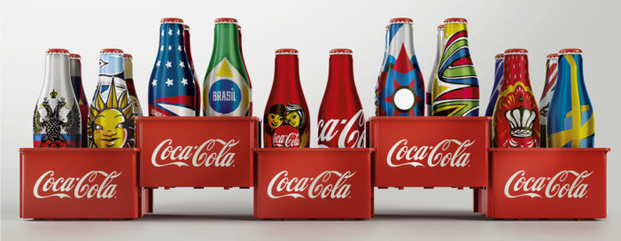 Coca-Cola Unveils Special Edition Mini-Bottles For The 2014 World Cup