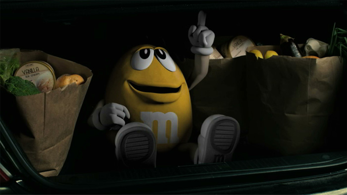 M&M's Delights Viewers With 'Nutty' Super Bowl Ad