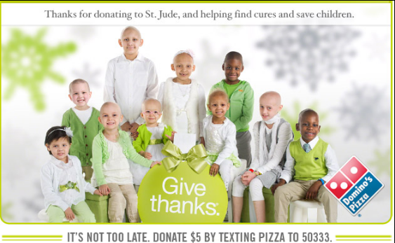 Domino's Raises All-Time High $4 Million for St. Jude Children's Research Hospital