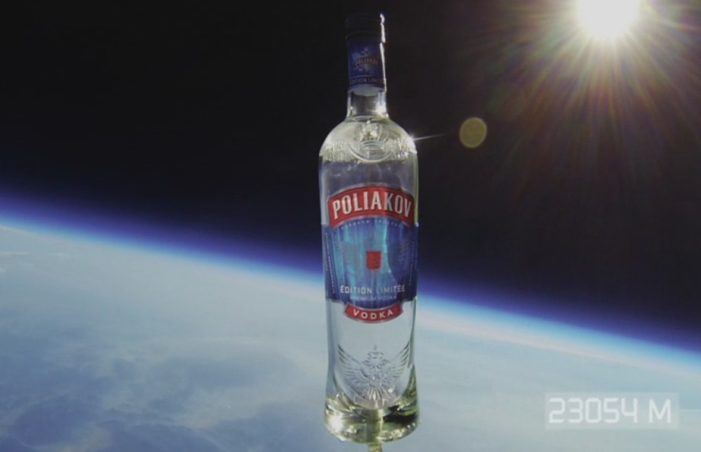 """Poliakov Becomes the First Vodka to Go in Space with """"K Degree"""" Experiment"""