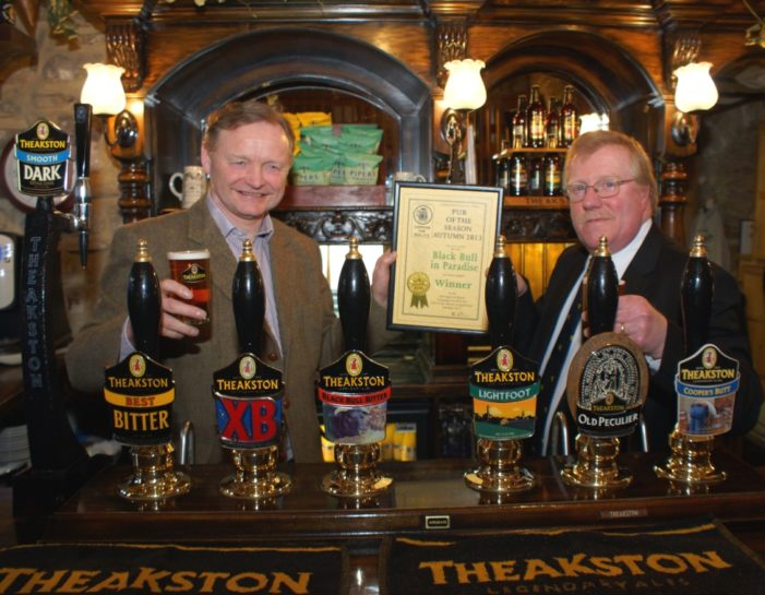 Theakston's Black Bull In Paradise Named CAMRA Pub Of The Season