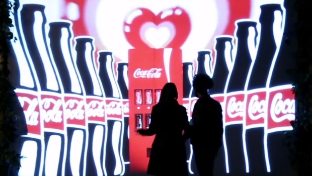 Coca-Cola Unveil The Invisible Vending Machine
