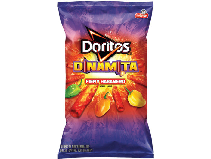 Doritos Dinamita Tortilla Chips Spice Up The Snack Food Aisle With New Flavour