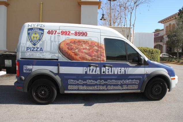 A Pizza Chain That Has Copied The Look Of The NYPD Sparks Controversy