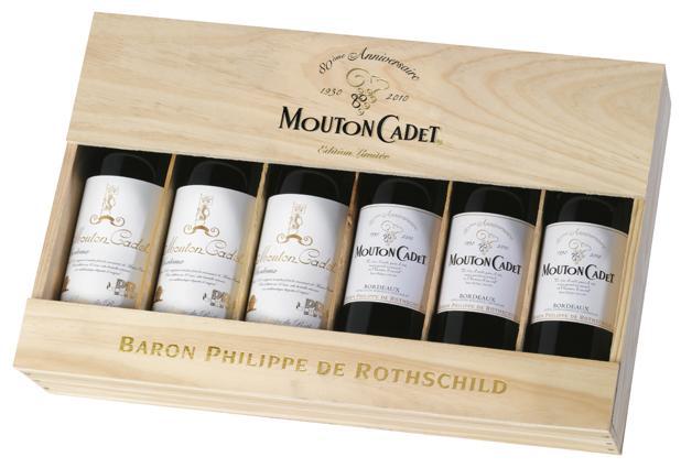 """Baron Philippe de Rothschild Introduces """"Mouton Cadet Sélection Ryder Cup"""""""
