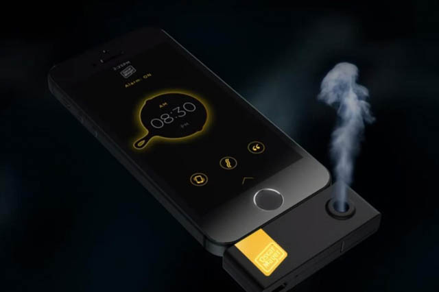 Wake up & Smell the Bacon-Scented iPhone Alarm Clock