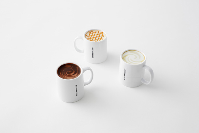 Nendo Create The Never Empty Mug Collection for Starbucks
