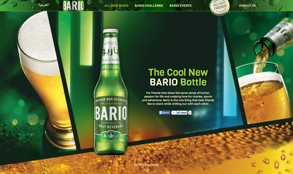 Bario Malt Beverage Debuts New Look and Digital Campaign