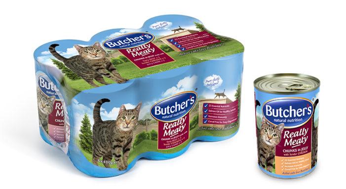DECIDE. Designs New Range of Cat Food For Butcher's Pet Care
