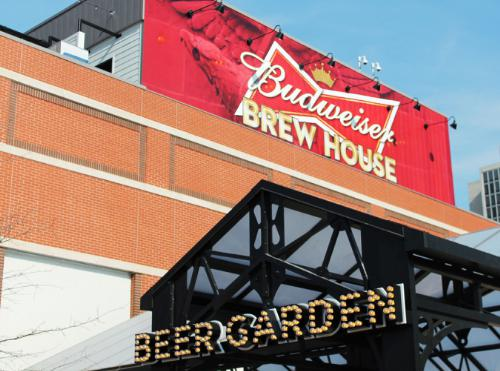 Budweiser Brew House Opens Doors at Ballpark Village in St. Louis