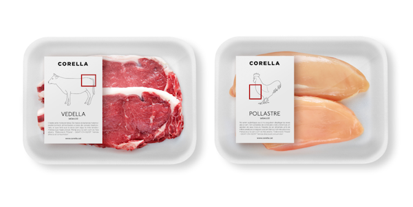 Meat And Cheese Packaging That Shows Which Animal Parts It Contains