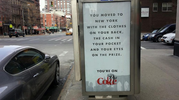 Coca-Cola Ads Seem to Reference How There Used to Be Cocaine in its Soda